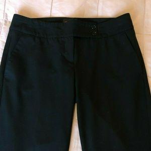 The Limited Size 4 Black Crop Pants Drew Fit